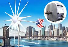 Patriot 12 Blade 12V AC Wind Turbine Generator1600 W Magnet PMA +Slip Ring + Hub