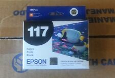 T117120 Genuine Epson T117 Black Inkjet Cartrdge Stylus T23 T24 TX105 TX115
