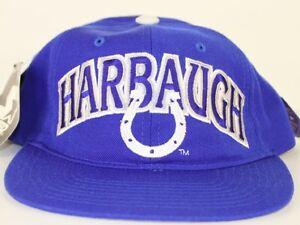"INDIANAPOLIS COLTS VINTAGE 1995 ""STARTER"" ""HARBAUGH"" SNAPBACK CAP NWT harbaugh"