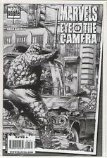 Marvels Eye of The Camera sketch variant #1 Thing 9.6