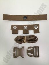 USMC MODULAR TACTICAL VEST MTV SCALABLE PLATE CARRIER REPAIR KIT COYOTE SACC-RK