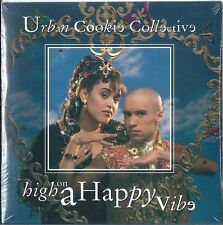 URBAN COOKIE COLLECTIVE : HIGH ON A HAPPY VIBE / 2 TRACK-CD / NEU