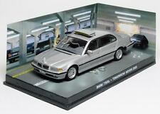 DIORAMA BMW 750iL JAMES BOND 007 TOMORROW NEVER DIES 1/43 UNIVERSAL HOBBIES