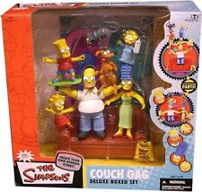 McFarlane Toys The Simpsons Deluxe Boxed Sets Family Couch Gag Action Figure Set