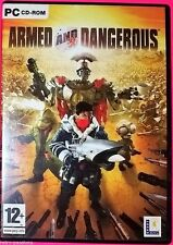 ARMED AND DANGEROUS - PC DVD ROM GAME - 3 DISC GAME - 2004 12+