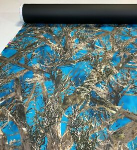 """500D Cordura Camo Fabric True Timber MC2 Blue  Outdoor Hunting 60"""" DWR By The Yd"""