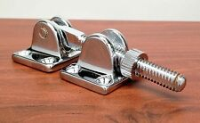 "MARINE BOAT SASH FASTENER CHROME PLATED BRASS 3.43"" BY 1.25"""