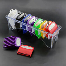8PCS/Set Universal Hair Clipper Limit Trimmer Cutting Guide Comb Guards For Wahl
