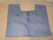 BandolinoBlu Mandi Cotton/Poly/Spandex Stretch Straight Leg Blue Jeans 18 EUC