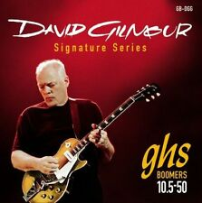 GHS DGG David Gilmour RED Boomers elettrica stringhe 10.5-50