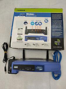 Linksys Cisco 4-Port Wireless-B Broadband Router Switch 2.4GHz Model BEFW11S4