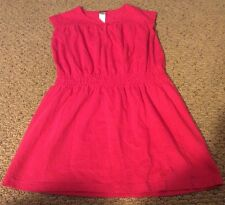 Adorable Tea Collection Girls Sz 3 Pink Cinch Dress Perfect With Leggings VGUC
