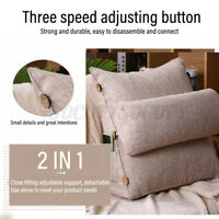 18'' Wedge Back Pillow Rest Neck Home Sofa Bed Lumbar Office Cushion Support US