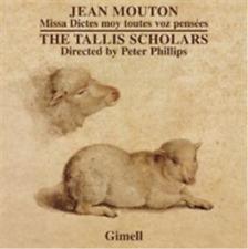Jean Mouton: Missa Dictes Moy Toutes Voz Pens�es CD NEW