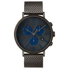 Reloj para hombres Timex Fairfield Supernova Pulsera De Malla Gris Dial Chrono TW2R98000VQ