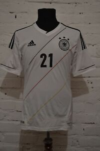 GERMANY 2012/2014 HOME FOOTBALL SHIRT SOCCER JERSEY ADIDAS TRIKOT MENS S 21 REUS