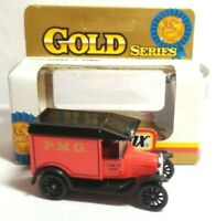MATCHBOX 1993 DIECAST GOLD SERIES 1921 MODEL T FORD - P.M.G. - BOXED