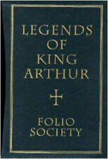 Medieval Royal King Arthur Legend Myth Holy Grail Tristan Magic Folio Society