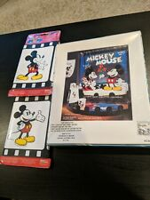 Disney Mickey Mouse and Minnie Mouse Shower Curtain + Mickey Decorative Border