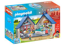 Playmobil 70111 City Life Take Along Diner (Playsets) for 3-4 Years, 5-7 Years