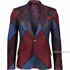 Vivienne Westwood Wool Argyle Blazer IT46 /US36/UK36 Jacket New Authentic
