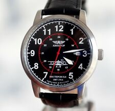 POLJOT  Wrist Watch DIAL AVIATOR Russian Military Mechanical Men's Watch