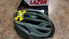 Lazer Clash Helmet Khaki Green (With Mesh Storage Bag)
