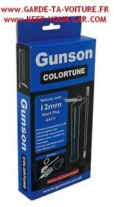 Gunson G4171 Colortune 12 mm Bougie diagnostique transparente / Sparkplug