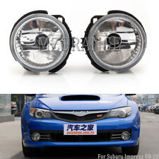 PAIR Fog Light Lamp For Subaru Impreza 2008 2009 2010 Clear Lens Replacement L&R