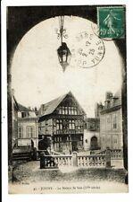 CPA-Carte Postale France-Joigny- Maison de Bois-en 1925-VM8470