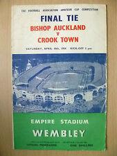 Finale del campionato DILETTANTI 1955-Bishop Auckland V Hendon, 16 APRILE