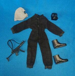 ACTION MAN Vintage SAS Uniform HECKLER KOCH Gun 1970s PALITOY GI Joe Outfit