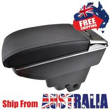 For Honda Fit Jazz 2002-2008 Dual Centre Console Armrest Storage Box Pu Leather