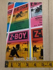 Jay Adams Z-Boy Skateboard Postcard From Trade Show Reproduction Dogtown Stecyk
