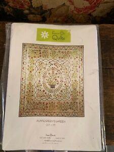 Auntie Green's Garden. Quilt pattern. Irene Blanck