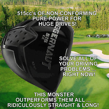 #1 ILLEGAL WORLD'S LONGEST CUSTOM DRIVER NON-CONFORMING BANNED 515cc GOLF CLUB