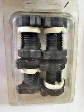 4 Klemmen Blockfix Nylon ø3-4-5-6 Zwinge Zugentlastung Schwarz Befestigung Kabel