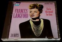 FRANCES LANGFORD-I'M IN THE MOOD FOR LOVE-ORIG RECORDINGS 1935-1942-CD 1997-MINT