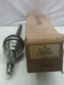 NOS FORD 1991 - 1996 ESCORT MERCURY TRACER FRONT AXLE SHAFT ASB F1CZ3B437D