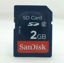 2GB SANDISK CLASS 2 SD MEMORY CARD FOR DIGITAL CAMERAS ETC 2 G B