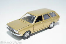 SCHUCO 301619 VW VOLKSWAGEN PASSAT VARIANT METALLIC GOLD VN MINT CONDITION