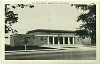 Natatorium Marysville Street View California CA Black & White Vintage Postcard