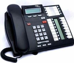 Nortel T7316e Phone Refurbished with One Year Warranty - New Cords - New Labels