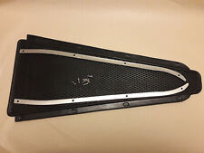 VESPA SPRINT SUPER RALLY VBB CENTRE FLOOR BLACK RUBBER MAT AND TRIMS STRIPS