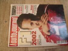 $$m Revue auto-journal HS N°4 F1 2002  métiers F1  Michael Schumacher