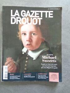 LA GAZETTE DROUOT 29 novembre 2019 magazine revue Art Enchères