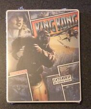 KING KONG Blu-Ray SteelBook Extended Ltd Ed + DVD UV iTunes Digital HD New Rare!