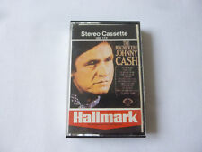 JOHNNY CASH ~ THE MAGNIFICENT ~ RARE '72 UK COUNTRY CASSETTE TAPE ~ PAPER LABELS