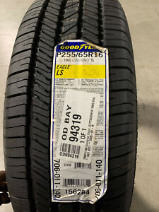 1 New 255 65 16 Goodyear Eagle LS Tire