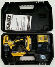 "DEWALT / DCD791D2 / 20V Lithium Ion 1/2"" Compact Brushless Drill / Driver Kit"